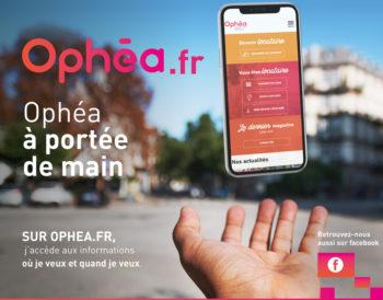 Bienvenue sur le nouveau site internet d'Ophéa !