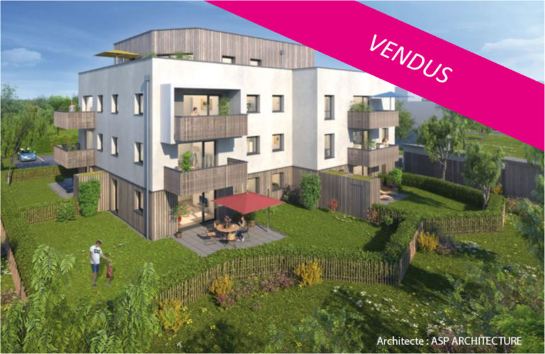 L'Opaline à Reichstett (13 logements) - Architecte : ASP Architecture