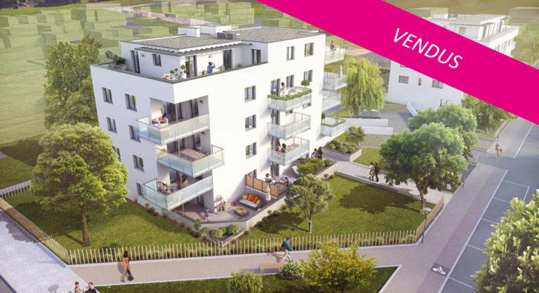Le Victoria à Mittelhausbergen (13 logements) - Architecte : Ajeance