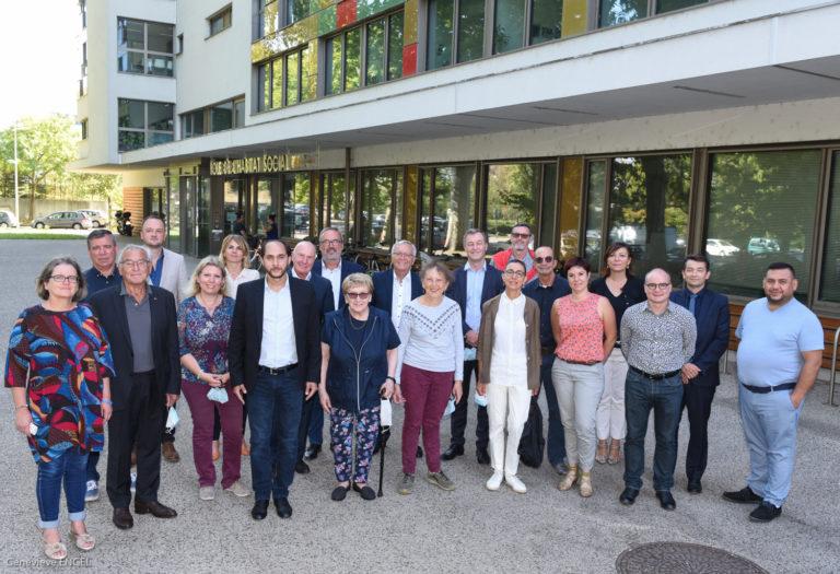 photo de groupe des nouveaux administrateurs d'ophéa en septembre 2020