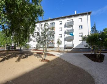 Réhabilitation et de résidentialisation des 144 logements du secteur Arthur Weeber à la Meinau