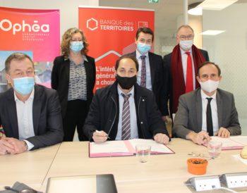 Partenariat : signature d'une convention avec la Banque des Territoires